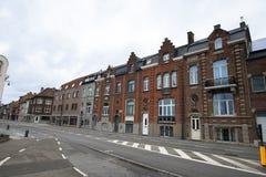Gator av Hasselt, Belgien Arkivfoton