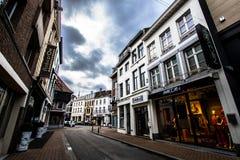 Gator av Hasselt, Belgien Fotografering för Bildbyråer