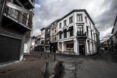 Gator av Hasselt, Belgien Royaltyfri Fotografi