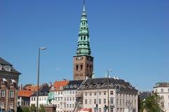 Gator av Köpenhamnen Arkivfoton