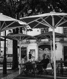 Gator av Lisbon Fotografering för Bildbyråer