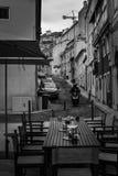 Gator av Lisbon Arkivfoton