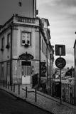 Gator av Lisbon Arkivbilder