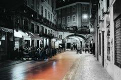Gator av Lisbon Royaltyfri Foto