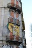 Gator av Lissabon - Portugal Royaltyfria Foton