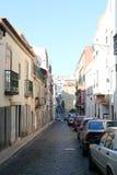 Gator av Lissabon - Portugal Royaltyfri Fotografi