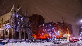 Gator av Montreal 2 Fotografering för Bildbyråer