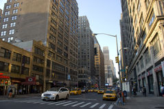Gator av New York City, Manhattan Royaltyfri Fotografi