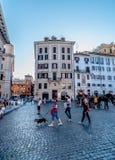Gator av Rome Royaltyfria Foton