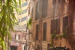 Gator av Rome Arkivfoto