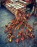 Gator av Salvador, Brasilien Royaltyfri Bild