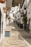Gator av Spanien arkivfoton