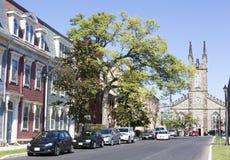Gator av St John Fotografering för Bildbyråer