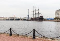 Gator av St Petersburg Arkivfoto