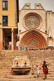 Gator av Tarragona, Spanien Royaltyfri Bild