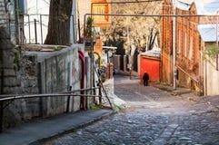 Gator av Tbilisi, Georgia Arkivbilder
