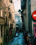 Gator av Toledo arkivbilder