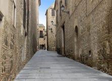 Gator av Toledo fotografering för bildbyråer