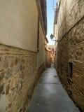 Gator av Toledo Arkivbild