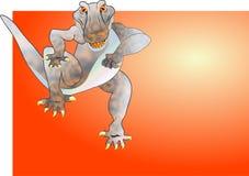 Gator Chase Stock Image