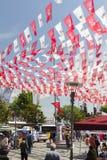 Gator för Turkiet ` s i kommande val Arkivbilder