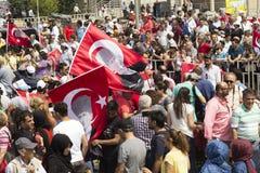 Gator för Turkiet ` s i kommande val Royaltyfri Bild