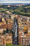 Gator i rome Arkivfoton