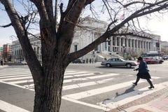 Gator och arkitektur av Washington DC Royaltyfria Foton