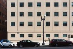 Gator och arkitektur av Washington DC Arkivfoton