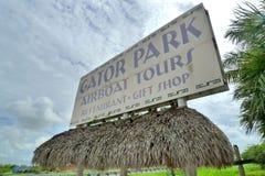 Gator park Stock Image