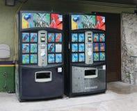 Gatorade Vending Machine with Calories Count Stock Image