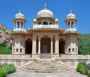 Gatore Ki Chhatriyan, Jaipur, Rajasthan, India. Stock Photos