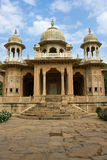 Gatore Ki Chhatriyan, Jaipur, Rajasthan, India. Stock Images
