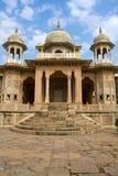 Gatore Ki Chhatriyan, Jaipur, Rajasthan, India. Stock Photo
