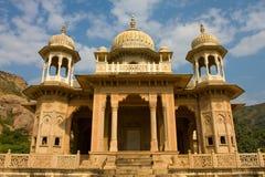Gatore Ki Chhatriyan, Jaipur, Rajasthan, Indien. Stockbild