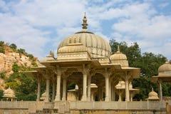Gatore Ki Chhatriyan, Jaipur, Rajasthan, Indien. Stockfotografie