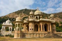 Gatore Ki Chhatriyan, Jaipur, Rajasthan, Indien Stockfotografie