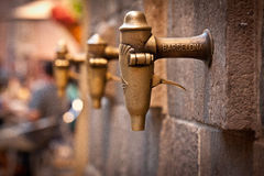 Gatorna av Barcelona Arkivfoton