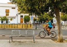 Gatorna av Cordoba - Spanien arkivbilder