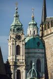 Gatorna av Prague Royaltyfri Fotografi