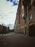 Gatorna av St Petersburg Royaltyfria Bilder