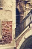 Gatorna av Venedig Arkivbilder