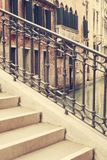 Gatorna av Venedig Arkivbild
