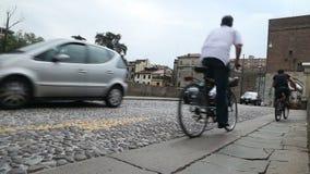 Gatorna Italien arkivfilmer