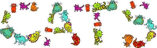 Gatos libre illustration