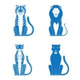 Gatos ilustração royalty free