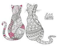 gatos Arte del zen libre illustration