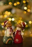 Gatos de Christmass Imágenes de archivo libres de regalías