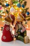 Gatos de Christmass Imagen de archivo