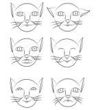 Gatos de las personas libre illustration